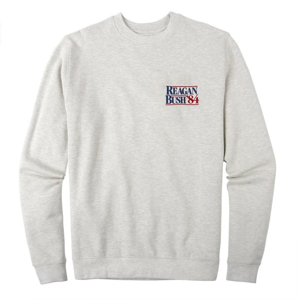 Rowdy Gentleman Crewneck Sweatshirt Reagan Bush '84
