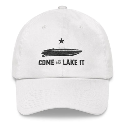 Rowdy Gentleman Dad Hat Come And Lake It