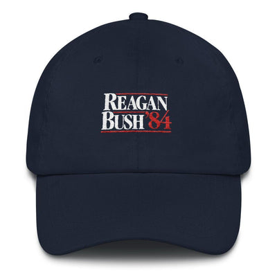 Rowdy Gentleman Dad Hat Reagan Bush '84
