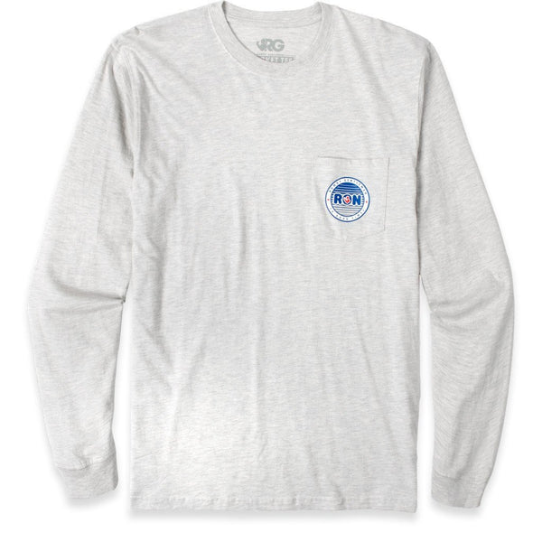 Rowdy Gentleman Long Sleeve Pocket Tee Big Ron
