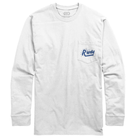 Rowdy Gentleman Long Sleeve Pocket Tee Early Riser