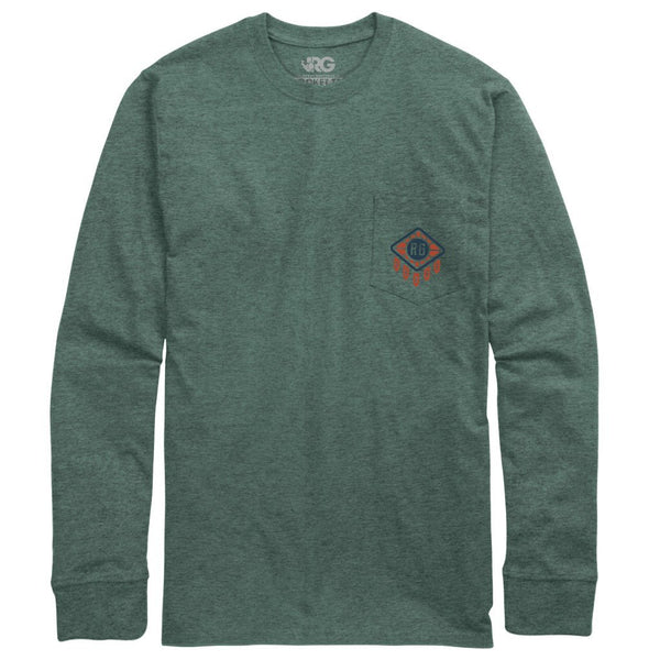 Rowdy Gentleman Long Sleeve Pocket Tee Good Vibe Tribe
