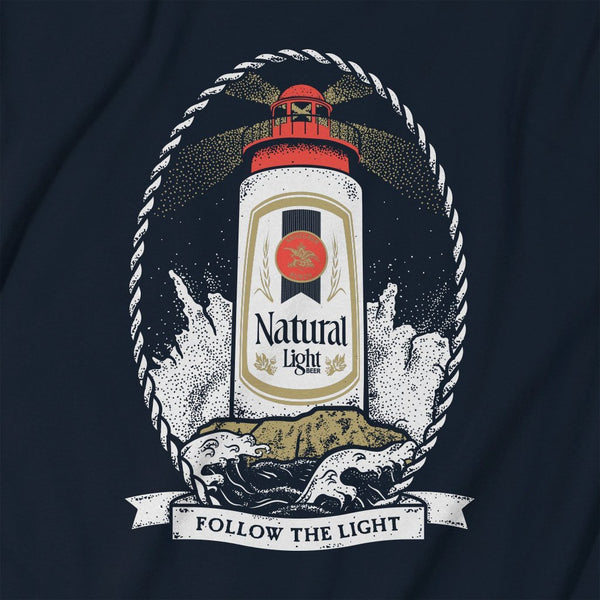 Rowdy Gentleman Long Sleeve Pocket Tee Natty Light House
