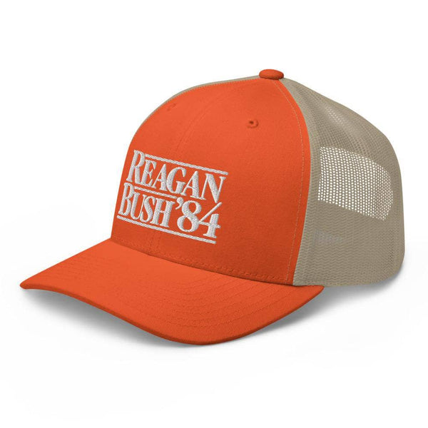 Rowdy Gentleman Reagan Bush '84 - Hunter Orange