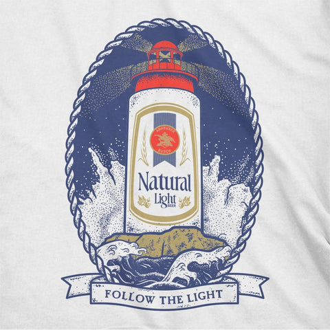 Rowdy Gentleman Short Sleeve Pocket Tee Natty Light House