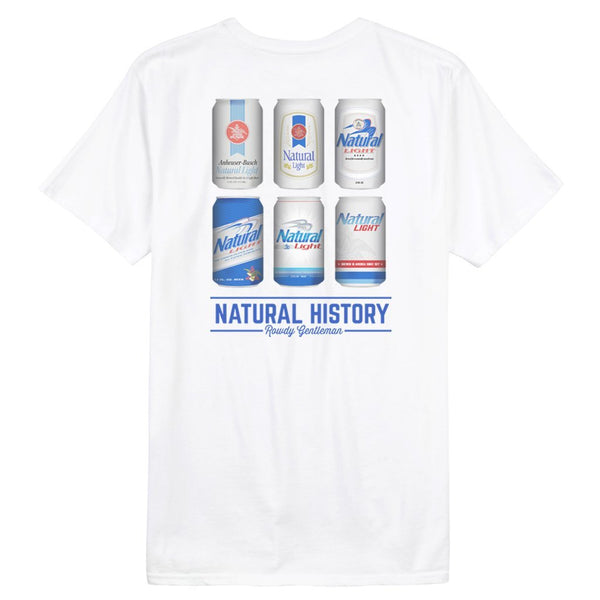 Rowdy Gentleman Short Sleeve Pocket Tee Natural History