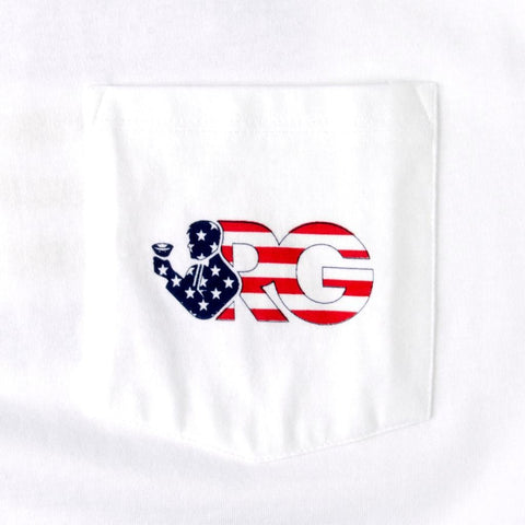 Rowdy Gentleman Short Sleeve Pocket Tee World War Champs