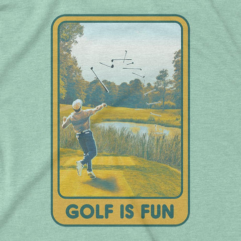 Rowdy Gentleman T-Shirt Golf Is Fun
