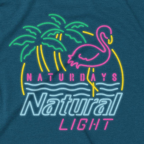 Rowdy Gentleman T-Shirt Naturdays Neon