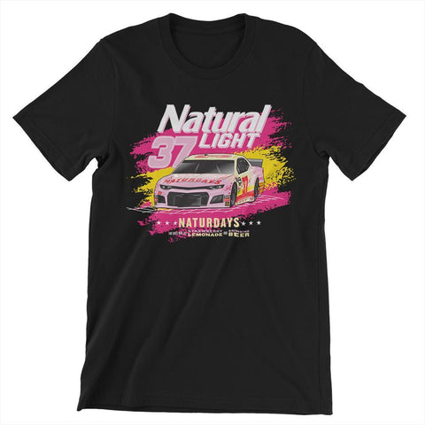 Rowdy Gentleman T-Shirt Small Naturdays NASCAR