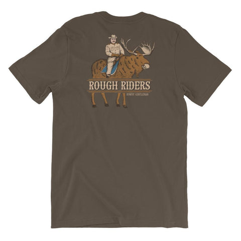 Rowdy Gentleman T-Shirt Small Rough Riders