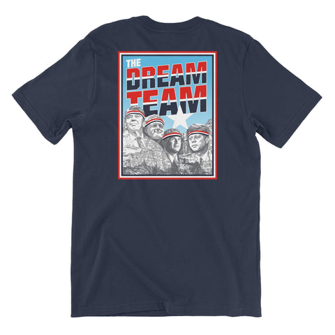 Rowdy Gentleman T-Shirt Small The Dream Team
