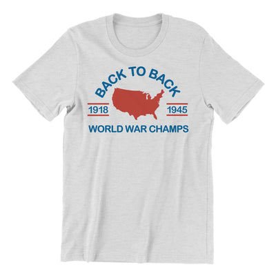 Rowdy Gentleman T-Shirt Small World War Champs
