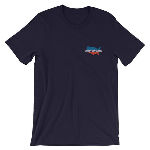 Rowdy Gentleman T-Shirt USA Streaking