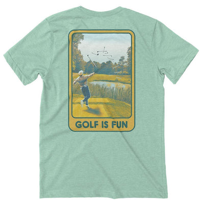Rowdy Gentleman T-Shirt X-Small Golf Is Fun