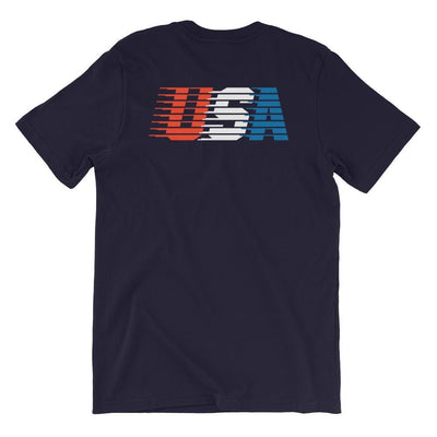 Rowdy Gentleman T-Shirt X-Small USA Streaking