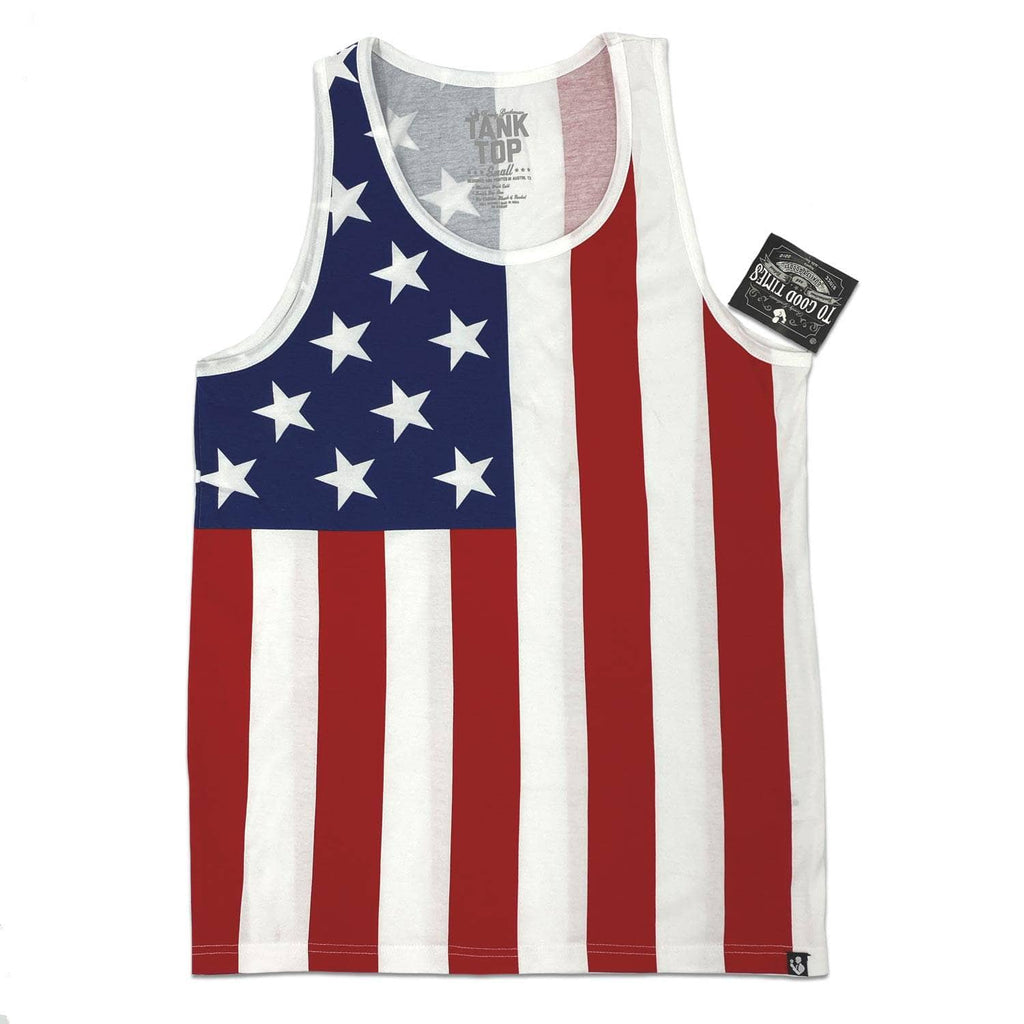Rowdy Gentleman Tank Top Small / Standard Fit The American Flag