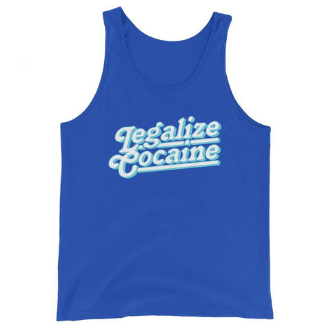 Rowdy Gentleman Tank Top X-Small Legalize Cocaine