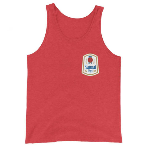 Rowdy Gentleman Tank Top X-Small Natural Light Vintage Logo