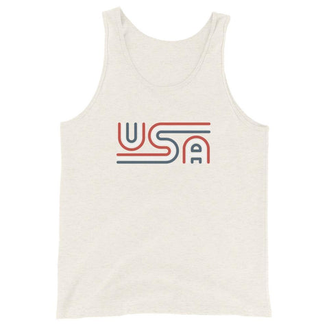 Rowdy Gentleman Tank Top X-Small USA Tri-Line
