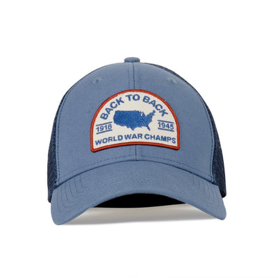 Rowdy Gentleman Trucker Hat Rope Hat World War Champs