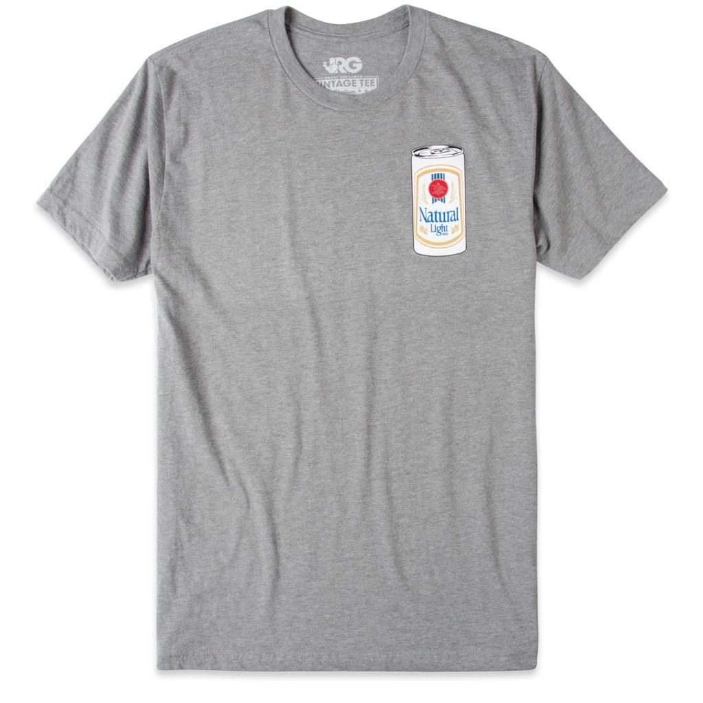 Rowdy Gentleman Vintage Tee Throwback Natty Can