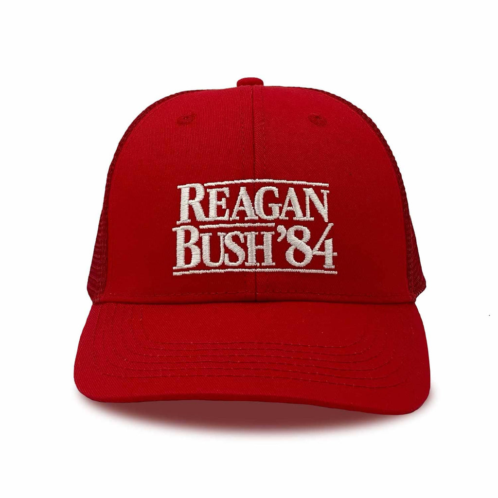 The Sauce Trucker Hat Reagan Bush '84