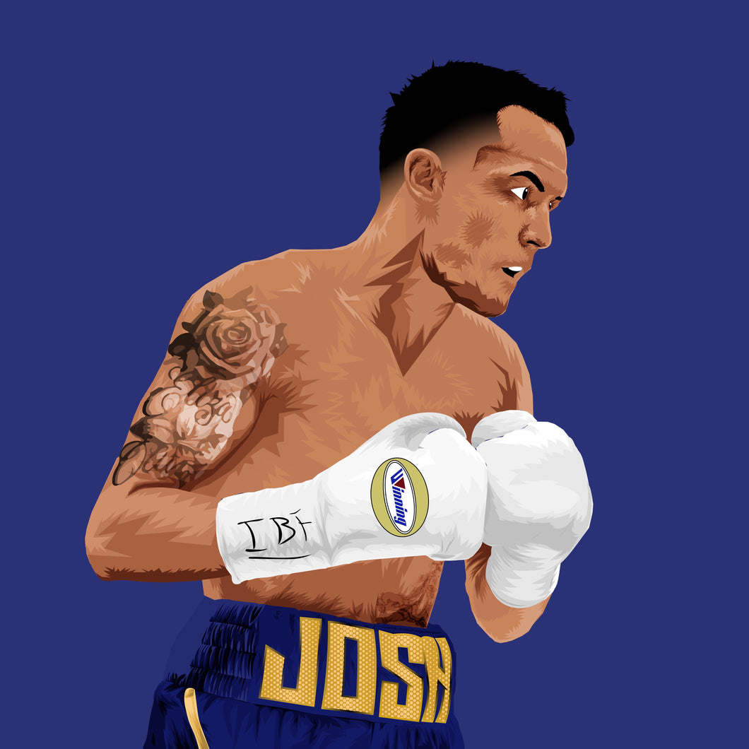 Josh Warrington Print