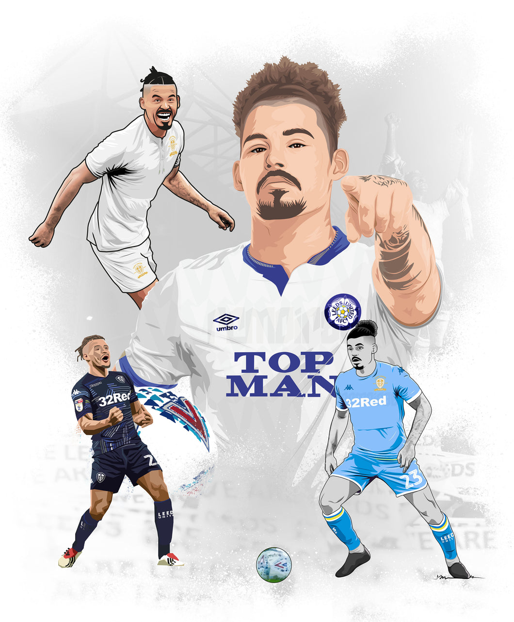 Kalvin Phillips Collection Print