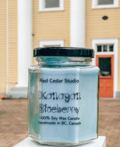 Okanagan Blueberry Candle