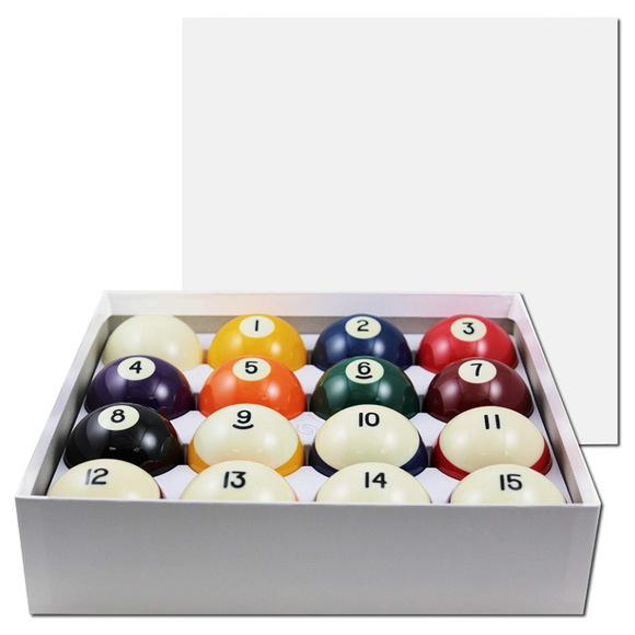 Aramith Standard Pool Ball Set
