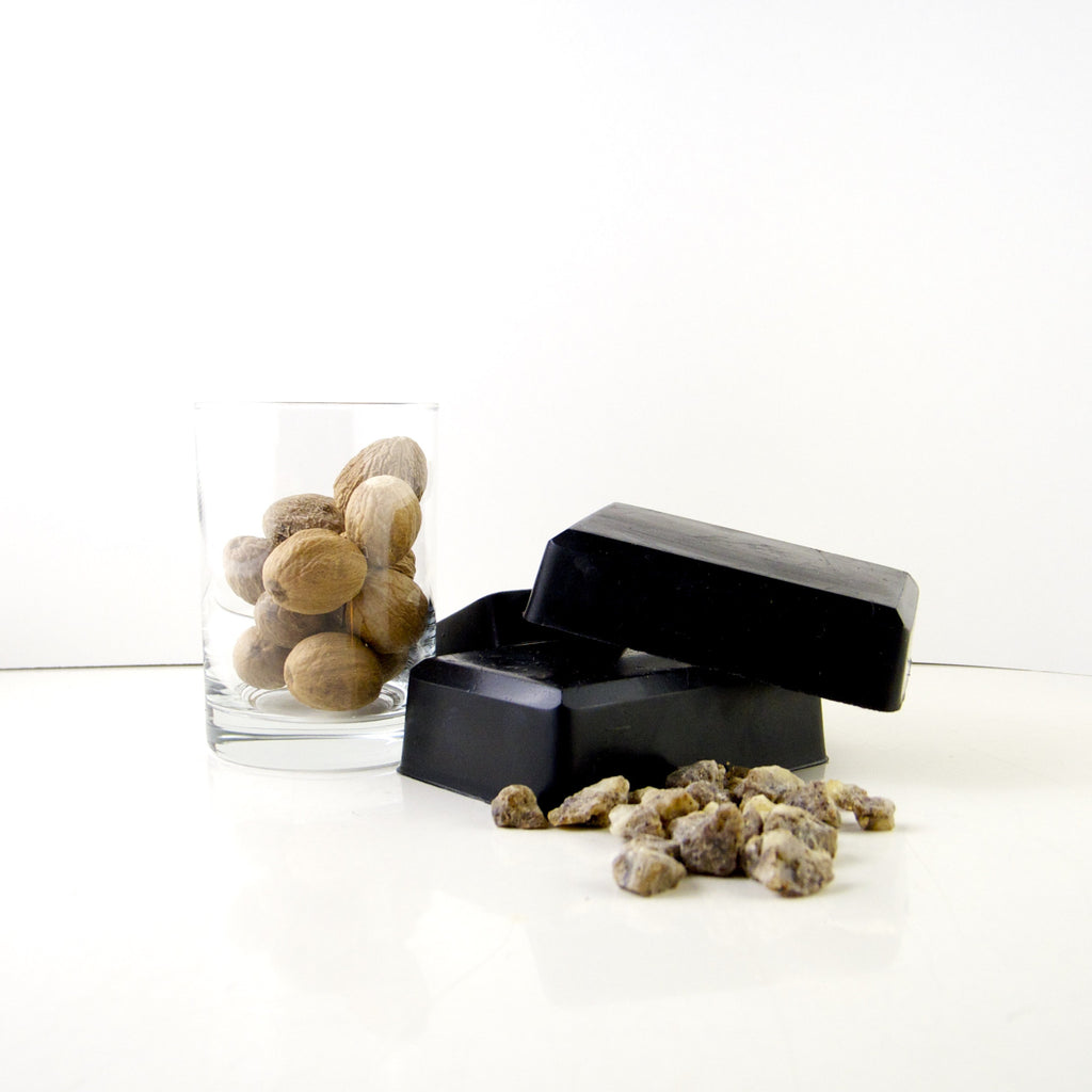 activated charcoal/sacred frankincense body soap