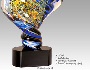 Art Glass - Diamond Twist