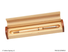 Load image into Gallery viewer, Wooden Pen Case - Barrel