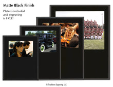 Load image into Gallery viewer, Pop-In Frame Plaque Matte Black Finish