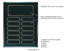 Load image into Gallery viewer, Perpetual Plaque - Black Piano