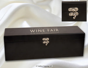 Wine Box - Matte Black