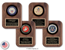Load image into Gallery viewer, American Military Tribute Plaques