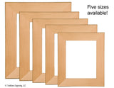 Solid Red Alder Picture Frames