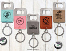 Load image into Gallery viewer, Leatherette Keyring Opener