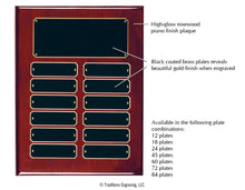 Load image into Gallery viewer, Perpetual Plaque - Rosewood