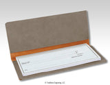 Leatherette Checkbook Cover