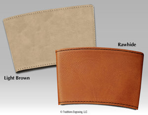 Leatherette Drink Sleeve