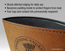 Load image into Gallery viewer, Leatherette Drink Sleeve