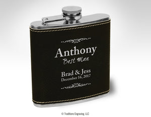 Attendant Gift - Stainless Steel Flask