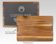 Load image into Gallery viewer, Acacia Wood/Slate Cutting Board