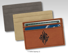 Load image into Gallery viewer, Leatherette Money Clip