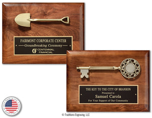 Key to the City / Groundbreaking Shovel