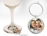 Attendant Gift - Metal Wine Glass Charm
