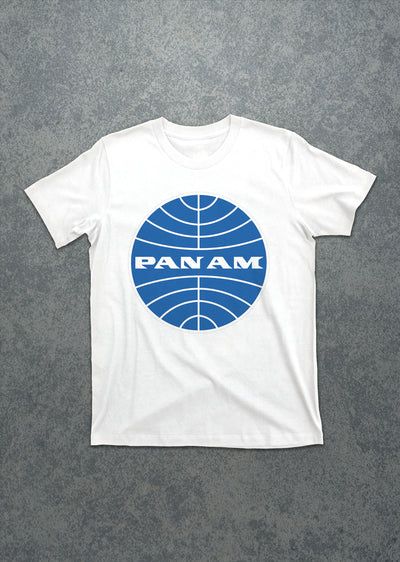 Pan Am Large Logo Tee